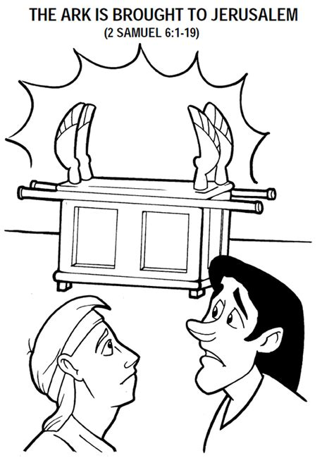 Ark Of The Covenant Coloring Page Az Coloring Pages Childrens Colouring In L