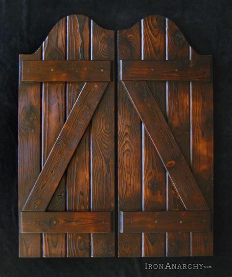 swing bar doors salon doors custom swinging saloon doors handcrafted