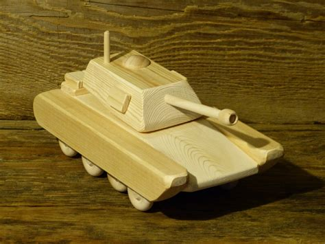 Handmade Woodworking - wood army tank m1a1 wooden toys handmade woodworking