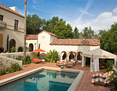 mediterranean house plans with pool pasadena showcase house of design