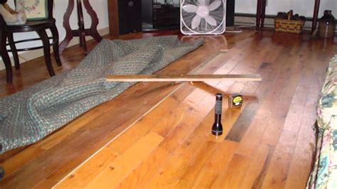 Buckling Hardwood Floors Above Vented Crawl Spaces     Ask