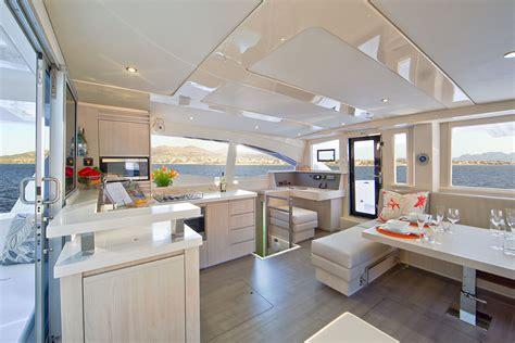 catamaran interior pics leopard 44 catamaran interior photography nautique tv