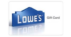 Does Lowes Sell Gift Cards - 100 lowe s gift card for 91 99living rich with coupons 174