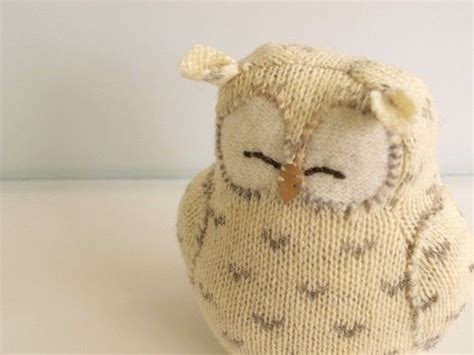 Bee And Vee Big 7 Owl best 25 knitted owl ideas on knitted owl doll