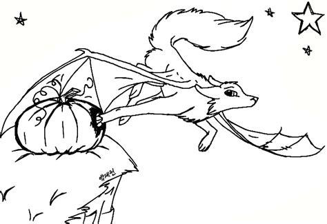 halloween demon wolf line art by luvlymystery on deviantart
