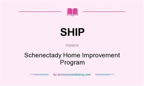 ship schenectady home improvement program in undefined