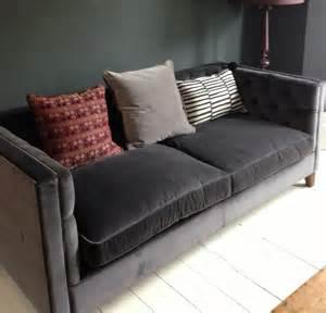 grey velvet sofa grey velvet sofa