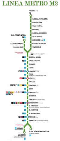 porta genova metro linea verde metropolitana linea m2 metropolitana