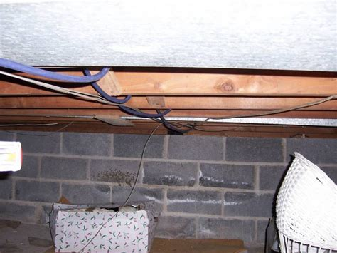 running electrical wire in basement k