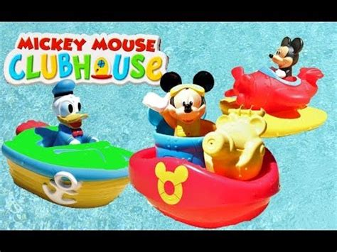 mickey mouse clubhouse bathroom mickey mouse clubhouse bath squirter with donald duck mickeys rescue boat airplane