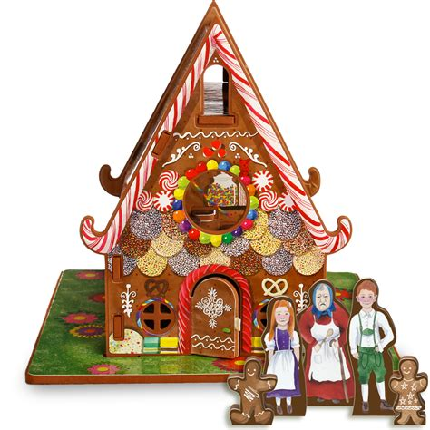 casa hansel e gretel hansel and gretal story book and playset from storytime