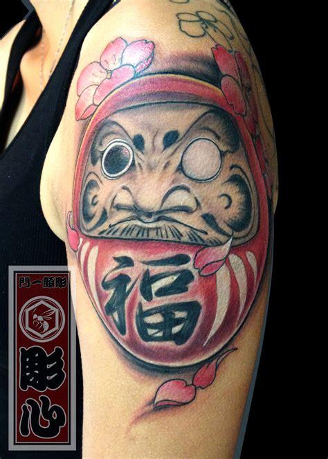 tattoo oriental daruma significado horishin daruma daruma doll dharma make a wish