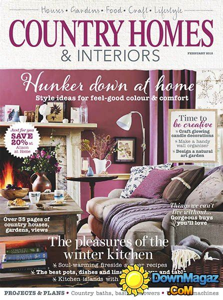 country home design magazines country homes interiors february 2015 187 download pdf