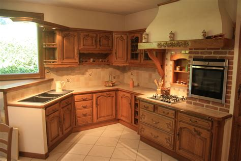 cuisine a cuisine rustique moderne