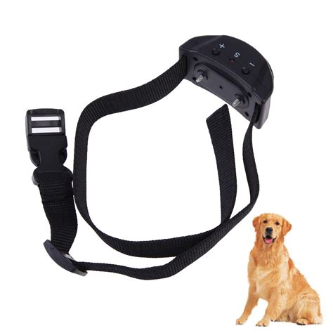No Bark Anti Bark Collar Kalung Anjing Anti Gonggong Latih Anjing top sell pet853 anti bark no barking tone shock collar for small medium bs in