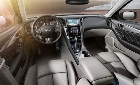 infiniti q50 interior car and driver