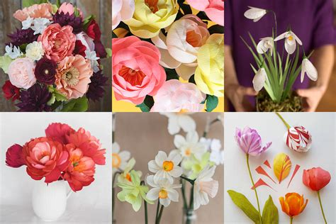 marie paper flower tutorial getting started with paper flowers supplies resources