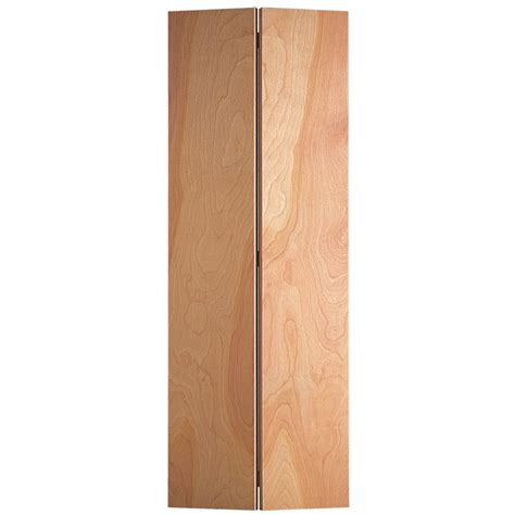 30 X 77 Interior Door by Shop Masonite Veneer Bi Fold Closet Interior Door
