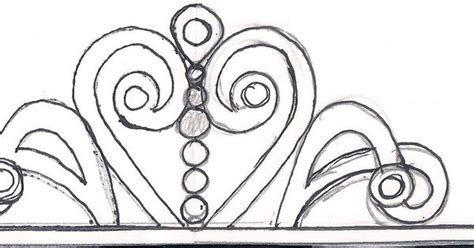 sofia the crown template sketches patterns templates i just sketched out a