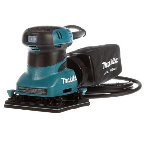 best rated in sander sheets helpful customer reviews amazon com makita 2 amp corded 1 4 sheet finishing sander with 60g