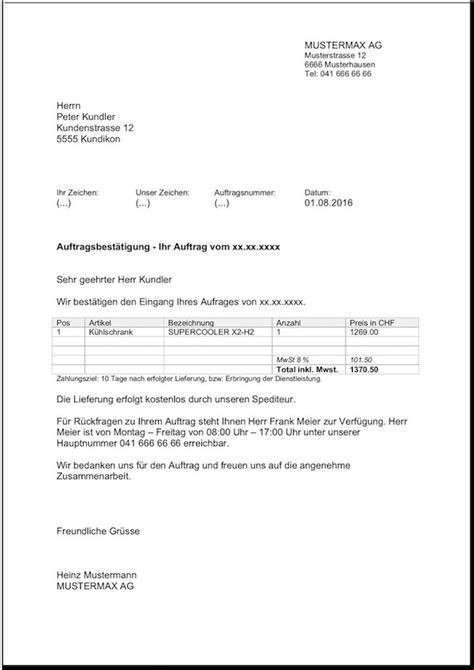 Beispiel Briefvorlage kostenlose vorlagen f 252 r word excel briefvorlagen ch