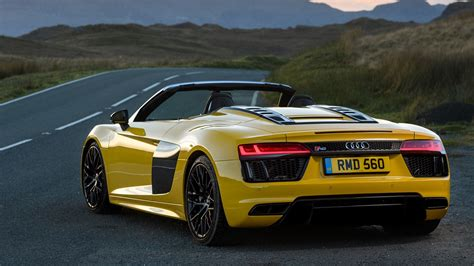 audi rs8 spyder audi r8 v10 spyder 2017 review by car magazine