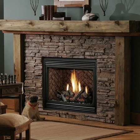 Gas Fireplace Clearance by Kingsman Hb3624 Zero Clearance Direct Vent Fireplace