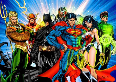 justice league the art the justice league by j skipper on