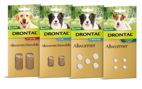 drontal for dogs drontal all wormer chewable for dogs tasty chew 5pack