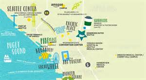Seattle Attractions Map by Maps Update 700698 Seattle Washington Map Tourist 11