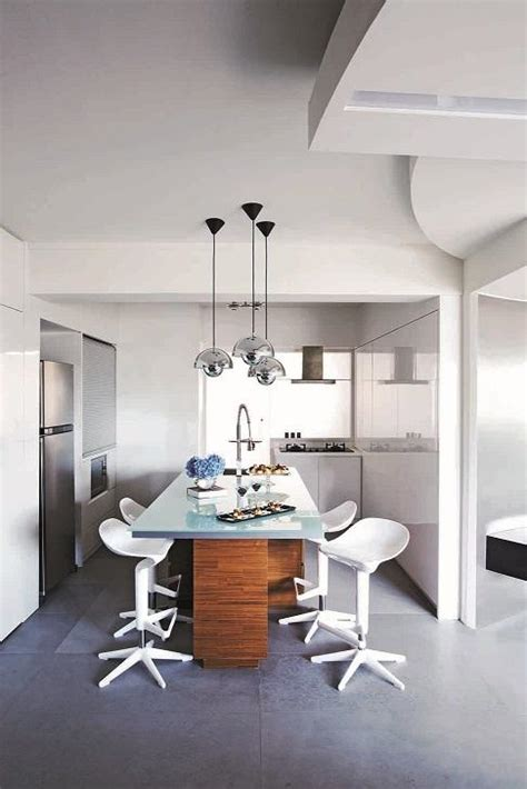 Top Decor Blogs gorgeous open concept kitchens for small hdb flats home