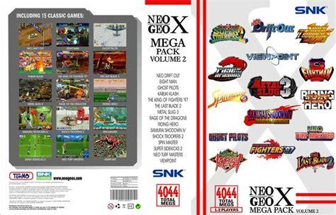 Cso Kit Vol2 Mega Bundle Vol1 Neo Geo Mega Pack Volume 2 Neo Geo X Neo Geo