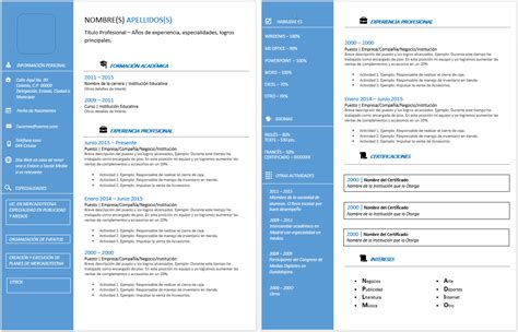 Plantilla De Curriculum Ejecutivo curriculum vitae ejecutivo gt ejemplos formatos y