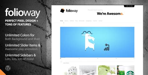 themeforest author level themeforest yearly roundup the best wordpress themes of 2011