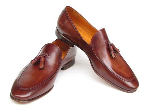 mens brown tassel loafers paul parkman s tassel loafer brown painted