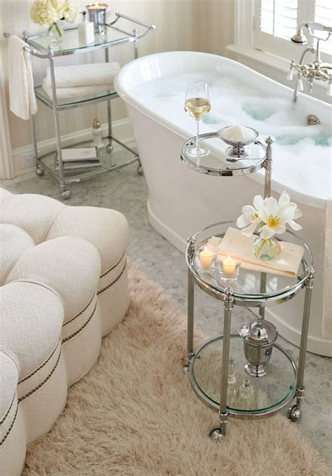bathtub accesories 25 best ideas about ottoman tray on pinterest tray for
