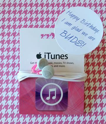 How To Set Up Itunes Gift Card - 10 creative ways to give a gift card