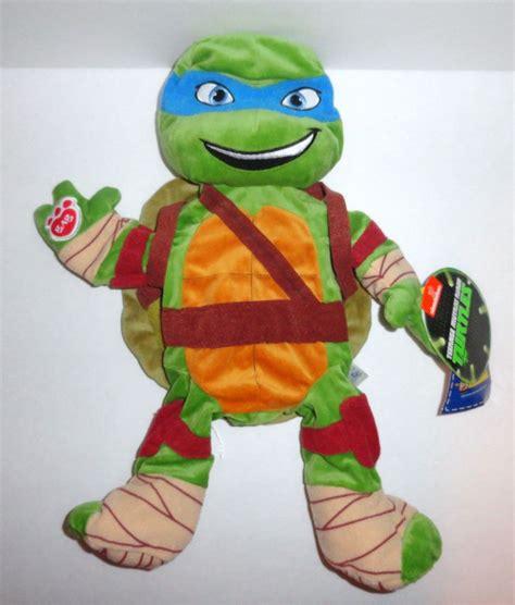 new build a bear teenage mutant ninja turtle plush doll