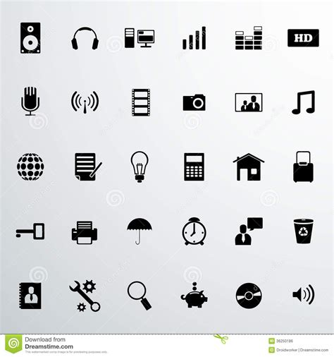 Vector Business Icons Set Royalty Free Stock Photos Image 1095468 Business Icon Set Royalty Free Stock Image Image 36250186