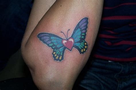 tattoo butterfly with heart index of images 30