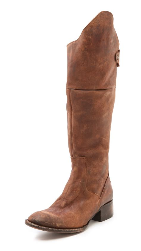 free bird boots freebird by steven stable boots in brown lyst