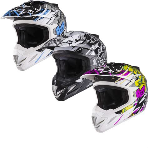 motocross crash helmets shox mx 1 scream motocross atv quad off road adventure