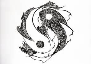 tribal yin yang tattoos designs the most awesome images on the koi and