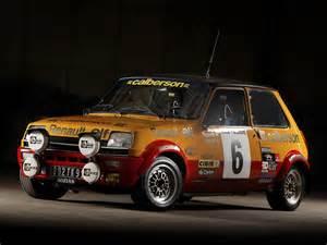 Renault Rally Cars Renault 5 Alpine Rally Car 1977 79