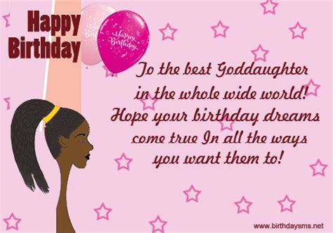 Happy Birthday Wishes For My Goddaughter Birthday Quotes For Goddaughter Quotesgram