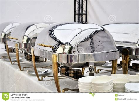 dishes for buffet cheffing dishes for buffet stock photos image 18960083