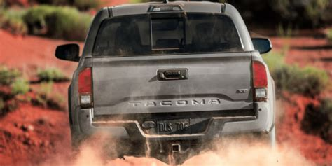 toyota tacoma towing specs  features