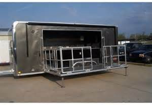 Bbq Concession Trailer With Porch by Bbq Or Food Service Concession Trailer With Stage