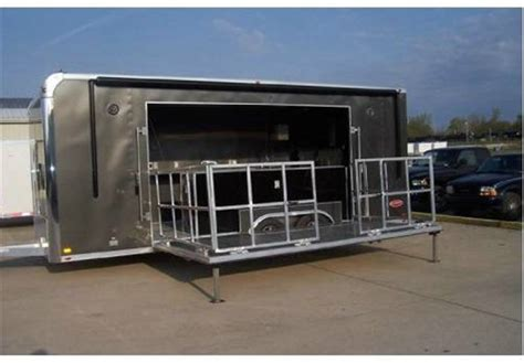 B Q Design Your Own Kitchen bbq or food service concession trailer with stage