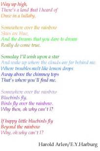 Over when it s over lyrics somewhere over the rainbow